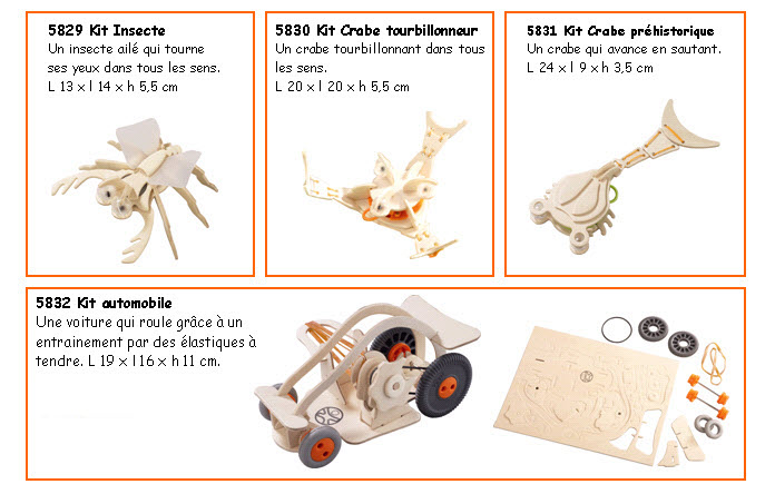 Maquettes HABA Terra kids