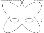 Masque papillon Pt